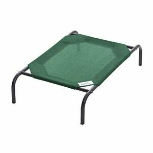 The Original Elevated Pet Bed by Coolaroo Small Brunswick Green