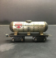 SANTA FE MIDDLE STATES OIL TANKER #553 TRAIN CAR O SCALE BOX CAR TOY