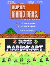 Mario Bundle: Super Mario Bros & Super Mario Kart Nintendo Wii U eShop DLC EMAIL