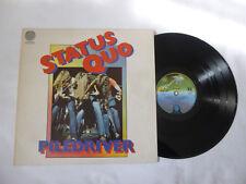 STATUS QUO ~ PILEDRIVER ~ VERTIGO UK VINYL LP ~ NICE AUDIO ~ SPACESHIP LABELS