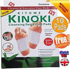 Kinoki Detox Patch absorb Toxins 10 Pads foot reflexology detoxification weight