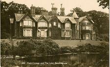 SANDRINGHAM ( Norfolk) :  York Cottage and the Lake  RP-COATES