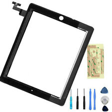 New Black Touch Screen Replacement Digitizer Front Glass display For iPad 2