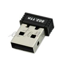 Mini USB WiFi Wireless Adapter 150Mbps 150M Network LAN Card 802.11n/g/b 2.4GHz