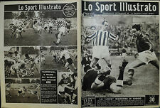 """LO SPORT ILLUSTRATO N°43/ 2.NOV.1950  LA """" JUVE """" MAESTRA DI GIOCO- RAY ROBINSON"""