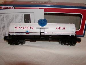 Williams Bachmann 48103 Sparton Oil Company Single Dome Tank Car O 027 MIB New