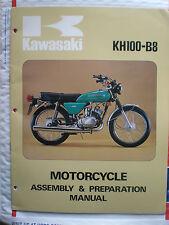 (Man 556) Kawasaki KH100-B8 Motorcycle Assembly & Preparation Manual