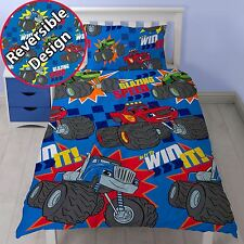 Blaze Set Housse de Couette Simple Neuf Monster Machines