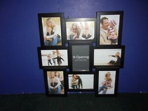 """Photo Frame - 9  Opening Collage - 17 1/2"""" x 17 1/2"""""""