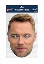 Ronan Keating Celebrity Single 2D Card Party Face Mask boyzone irish singer pop