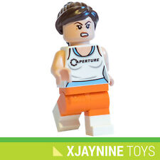 GENUINE LEGO Dimensions Chell Minifig - From Valve's Portal PC Game NEW