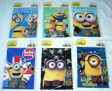 12 Despicable me Minions Coloring Book + 48 Crayon Child Party Favor Bag Fillers