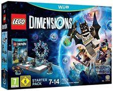 LEGO Dimensions: Lot Initial avec Batman Gandalf Wyldstyle pour Nintendo Wii U
