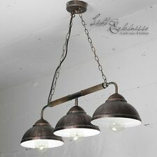 Maison de campagne Suspensions en braun-kupfer Lampe suspendue Lustre Petro
