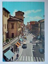 PISTOIA Via Cavour Autobus bus Vespa Piaggio vecchia cartolina