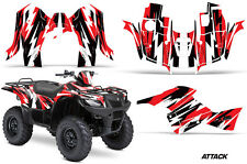 Suzuki Quad 500 AXi AMR Racing Sticker Graphic Kit Wrap Decal ATV 13-15 ATTK RED