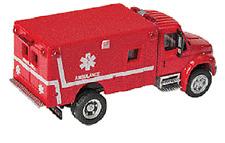 HO  Emergency EMS Ambulance 1:87 International 4300 949-11931