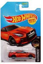 2017 Hot Wheels #282 Nightburnerz '17 Nissan GT-R (R35)