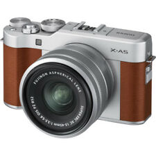 New FUJIFILM X-A5 Mirrorless Digital Camera with 15-45mm Lens - BROWN