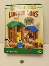 The Original Lincoln Logs White River Ranch Building Priority shipping!