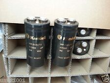 2x NEW GENUINE KENDEIL 47000UF 50V K01 CAPS FOR KRELL KSA50 NAIM HICAP QUAD AMP!