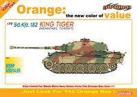 Dragon 7511 1/72 Plastic WWII German Tiger II Henschel Turret