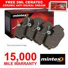 REAR MINTEX BRAKE PADS SET FOR ALFA ROMEO 156 SPORTWAGON 164 166 (1997-2005) NEW