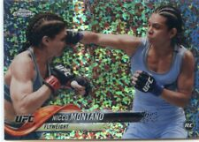 2018 Topps UFC Chrome NICCO MONTANO RC Diamond Hot Box Refractor Rookie #12