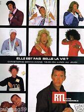 Publicité advertising 2002 Radio RTL avec Christophe Dechavanne