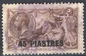 LEVANT GB POST OFFICE ABROAD 1921 STAMP Sc. # 62 USED