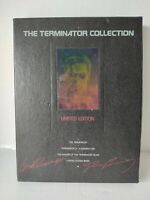 The Terminator Collection Limited Edition Set VHS 3 Tapes 1992 Arnold