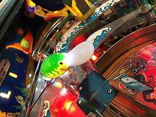 FISH TALES pinball machine GREEN ORANGE SPOON LURE mod led WILLIAMS GB LE, pro