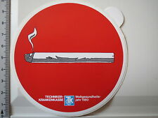 Aufkleber Sticker Techniker Krankenkasse - Weltgesundheitsjahr 1980 (3143)