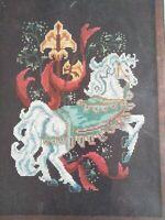 Janlynn Medieval Horse  Counted Cross Stitch kit Janlynn  sealed