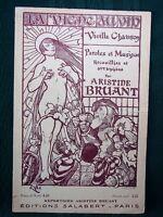 "Aristide Bruant - ca 1900 French sheet music ""La Vigne au Vin"""
