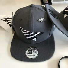 Rocnation Paper Planes New Era Hat Snapback Grey Roc Nation Pin Jay-Z Lox 4:44