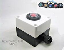 Double Sealed Waterproof Rocker Toggle Spst Led Switch Amp Utility Box 12v Ip66
