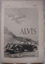 1944 Alvis Original advert No.5