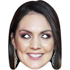 Laura Tobin GMB Weather Girl Celebrity Card Mask - All Masks Are Pre Cut