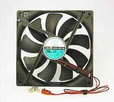 140mm 25mm Case Ball Bg Fan 12V DC 153CFM CPU Computer Cooling 2 Wire 14025 409*