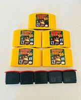 Donkey Kong 64 & Expansion Pack N64 Authentic COMBO! (Nintendo 64, 1999)