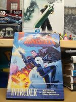 The Punisher Intruder 1989 Baron Marvel Graphic Novel Hardcover Comic RARE!