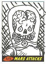 Mars Attacks Heritage Sketch Card: Sara Martin