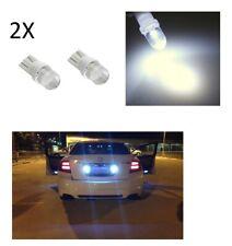 2X LED T10 BIANCO GHIACCIO LAMPADE LAMPADINE PER TARGA e FARI POSIZIONE W5W auto