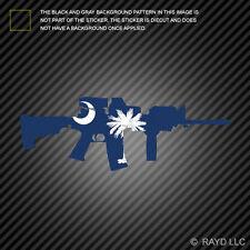 South Carolina State Shape AR15 Sticker Decal AR-15 M16 M-16 SC