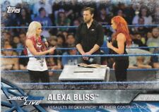 2017 Topps WWE Women's Division Sammelkarte, Momments # WWE-8 Alexa Bliss
