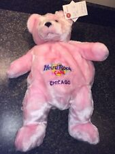 "Hard Rock Cafe Chicago Y-me Event 18"" Backpack Bear Only 6 Made PROTOTYPE"