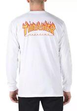 794547092 Men's VANS off The Wall Thrasher Magazine Checker Long Sleeve Skating Shirt  2xl