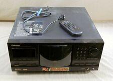 PIONEER PD-F1007 301 DISC CD MEGA STORAGE CHANGER W/REMOTE CONTROL SINGLE LOADER