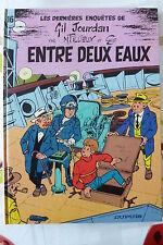 BD gil jourdan n°16 entre deux eaux réédition cartonnée 1987 TBE tillieux